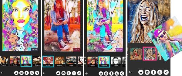 convertir fotos a historieta android