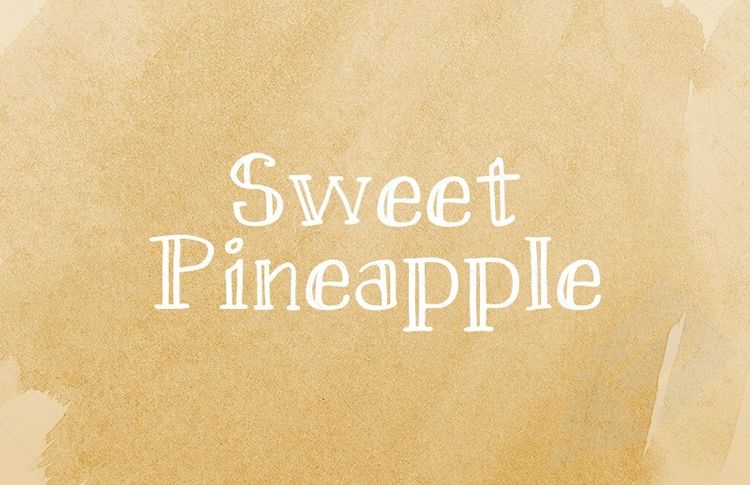 Sweet Pineapple Hand-Drawn free Serif