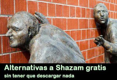 Alternativas a Shazam gratis y sin tener que descargar nada