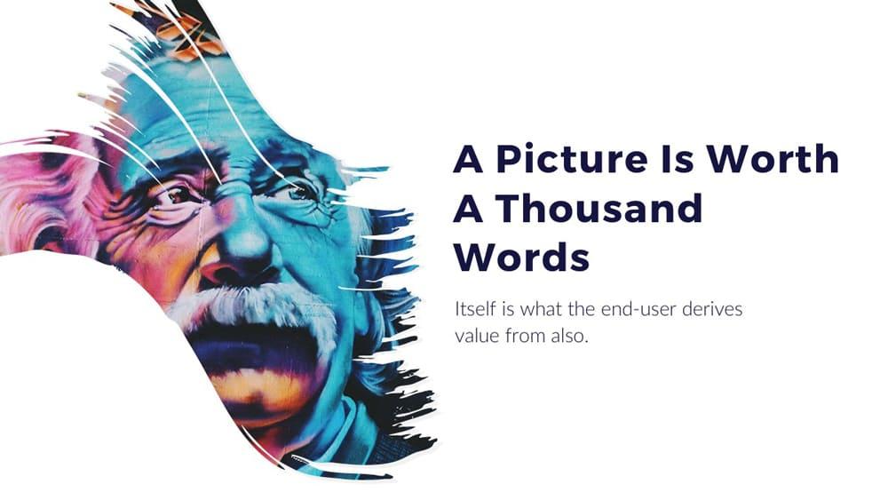 Presentación artística de plantilla de PowerPoint gratis