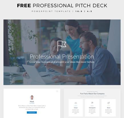 Plantilla de PowerPoint gratis para la presentación