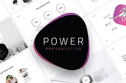 Plantilla de PowerPoint gratis enorme plantilla moderna