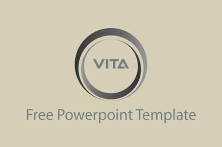 Plantilla de PowerPoint gratis minimalista
