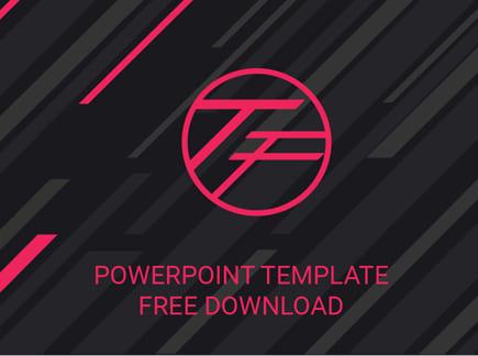 Diseño de tendencias de plantillas de PowerPoint gratuitas