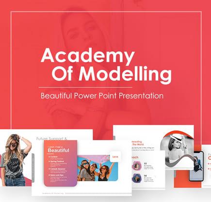 hermosa plantilla de PowerPoint gratis