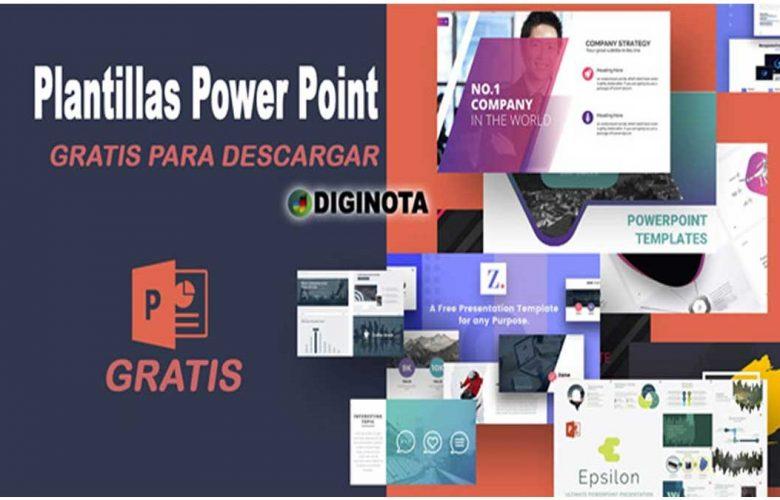 Colección de espectaculares plantillas gratuitas de PowerPoint 1