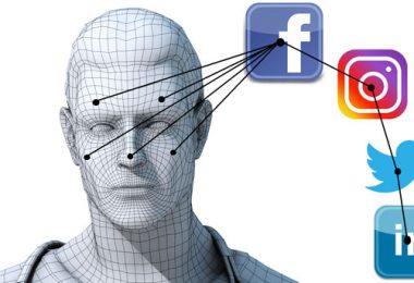 Social mapping reconocimiento facial en redes sociales