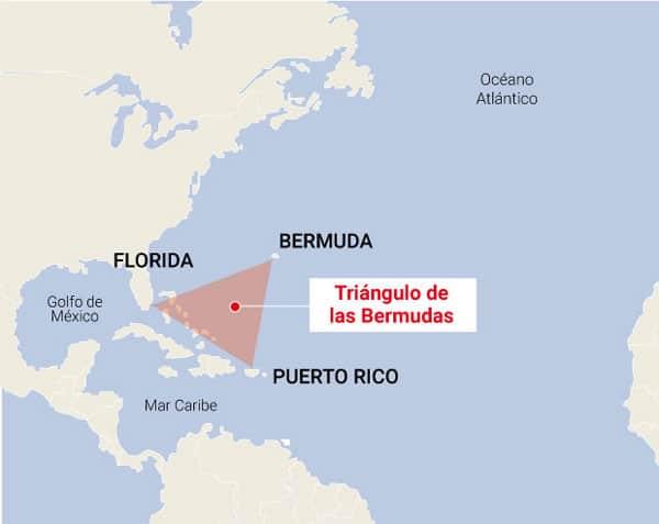 donde queda el triangulo de las bermudas