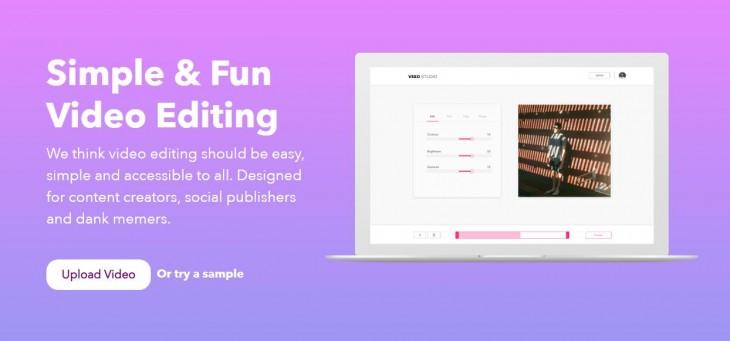 editar videos online y gratis