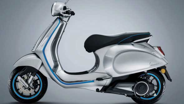 Vespa eléctrica ya disponible