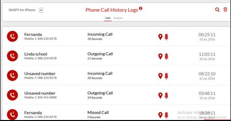 XNSPY – La app que le da el paquete total para espiar un iPhone 3