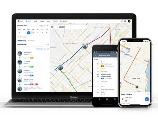 Sygic app para transporte