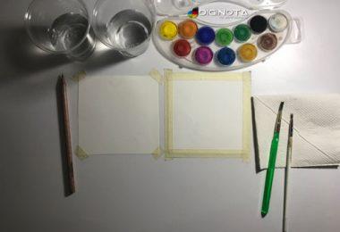 para pintar en acuarelas