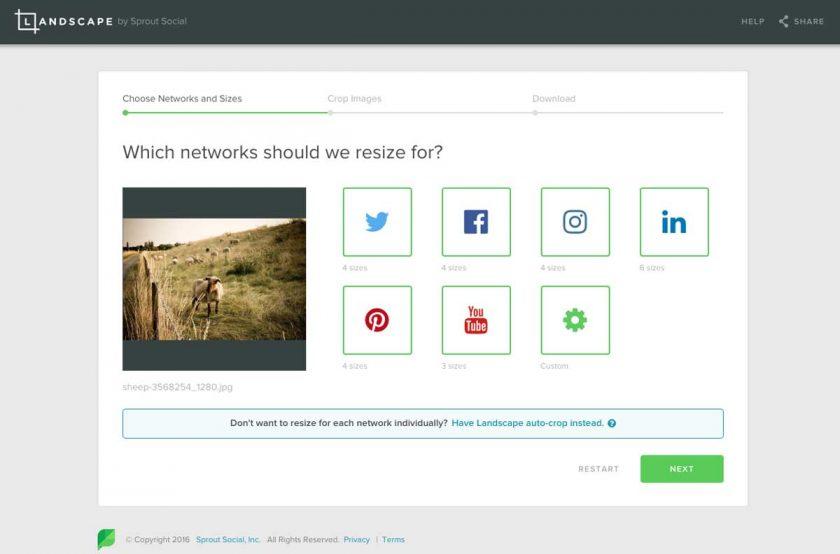 como cambiar imagenes para las redes