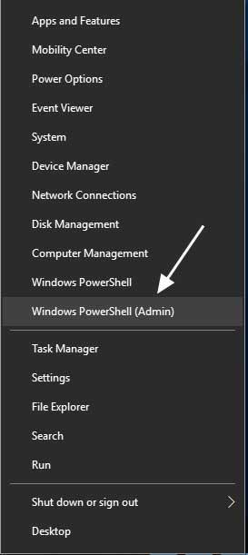 abrir power shell en windows