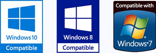 logo de controlador certificado WHQL
