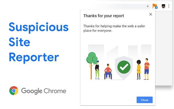 Cómo reportar sitios web de phishing y maliciosos en Google Chrome