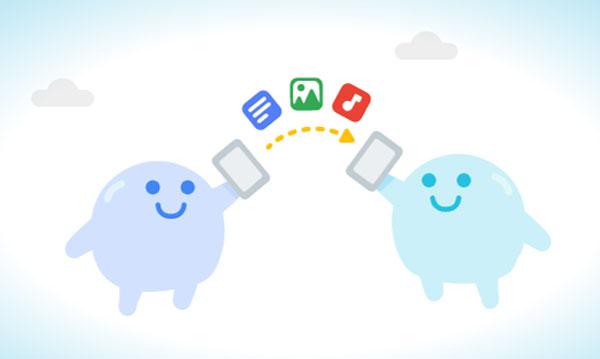 Android Beam va ser reemplazado al estilo de AirDrop y se llama 'Fast Sharing'