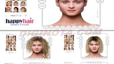 cambiar de peinado en linea