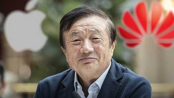 Ren Zhengfei, CEO y fundador de Huawei.