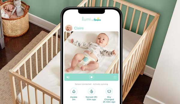 Pampers lanzan un pañal inteligente que rastrea pañales sucios, patrones de sueño y más. 3