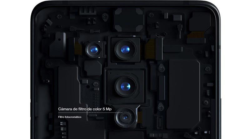 """Cámara del OnePlus 8 Pro puede """"ver"""" a través de la ropa y plástico 1"""