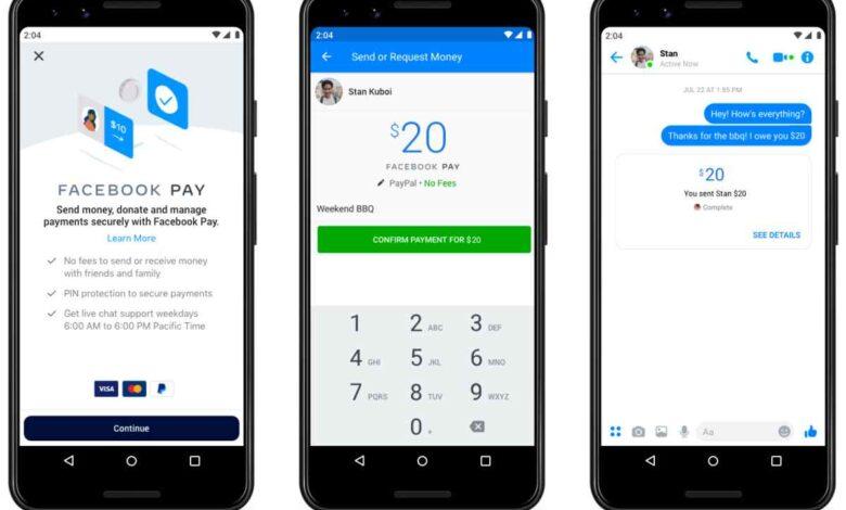 Photo of Facebook habilita transferencias de dinero vía P2P a través de WhatsApp