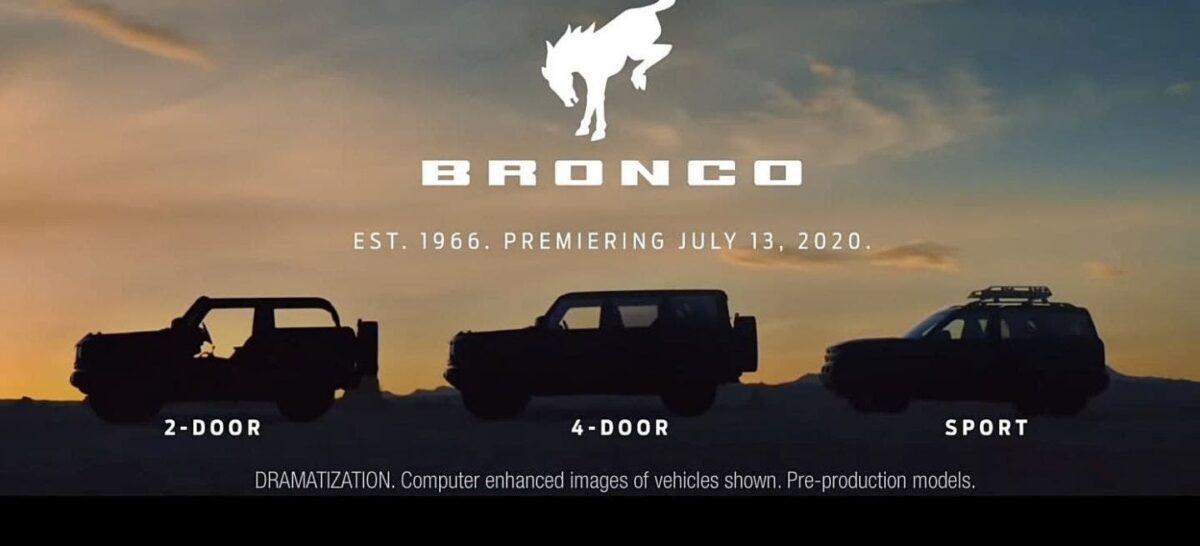 Hoy sale a la Luz, El Nuevo Ford Bronco 2021 1