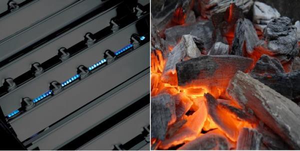 Que parrilla elegir Gas vs Carbón. La Rivalidad Eterna... 1