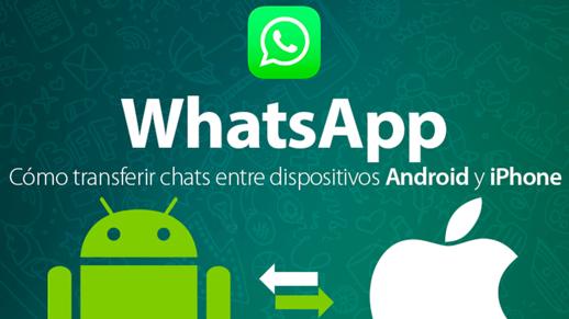 Cómo transferir datos de WhatsApp entre dispositivos iPhone y Android o viceversa? 1