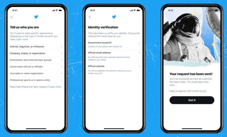 Relanzamiento para obtener la marca de verificación de Twitter. 1