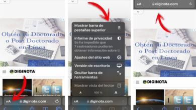 Devuelve la barra de Safari a su sitio en iOS 15